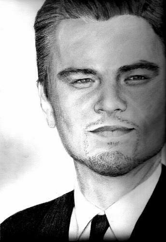Leonardo DiCaprio by portraitschris
